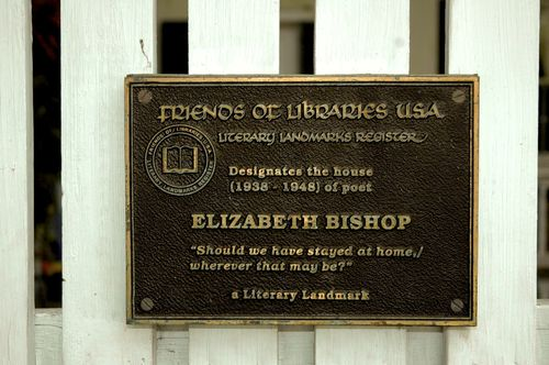 EB House plaque
