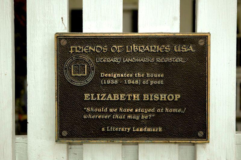 EB House plaque